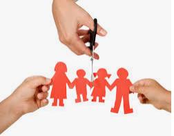 снимка, За деца, чиито родители са разведени