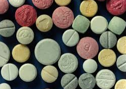 снимка, Остра интоксикация при амфетамини
