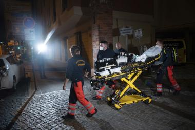 снимка, Четирима души бяха убити в германска болница, задържана е жена