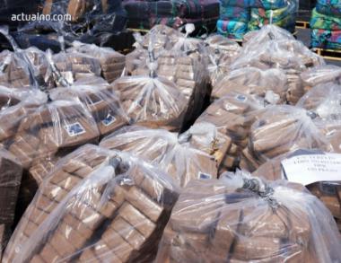 снимка, В Испания заловиха половин тон кокаин и задържаха пет души