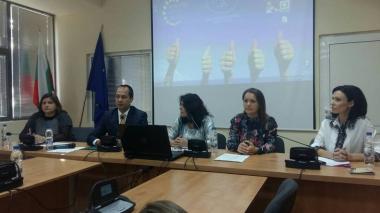 снимка, Кръгла маса по повод превенция на наркоманиите в град Враца