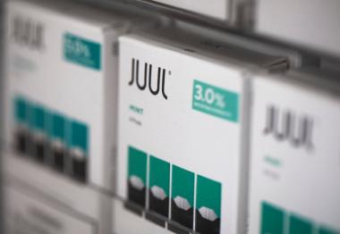 снимка, Juul Ends E-Cigarette Sales of Mint-Flavored Pods