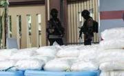 снимка, Indonesia police seize meth worth $82 million, arrest 17