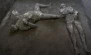 снимка, В Помпей археолози откриха нови сензации под лавата на Везувий