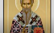 снимка, Свети Ипатий гонил бесове и змии