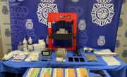 снимка, Four arrests in Mallorca in national police drugs operation