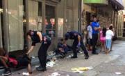 снимка, 33 души се свлякоха като трупове след напушване с друсан джойнт