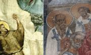 снимка, Италия се прекланя пред Джото, при нас - шедьоври в църква от същото време се рушат