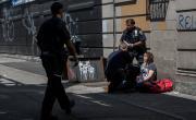 """снимка, Наркотик, 85 пъти по-мощен от марихуаната предизвика състояние на """"зомби"""" в Бруклин"""