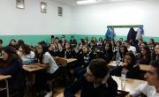 """снимка, Втора среща на ОбСНВ с ученици от Езикова гимназия""""Акад.Людмил Стоянов"""""""