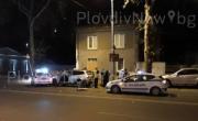 снимка, Дрогиран хасковлия е помлял полицейската патрулка в Пловдив