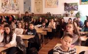"""снимка, Превенция на наркомании с ученици от II ОУ """"Димитър Благоев"""""""