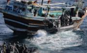 снимка, Hashish and heroin for $ 150 million in the Arabian Sea