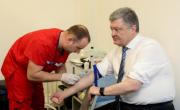 снимка, Порошенко си направи втори тест за наркотици и алкохол