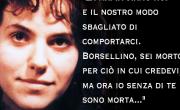 """снимка, 28 anni fa moriva Rita Atria, la """"settima vittima"""" della strage di via D'Amelio"""